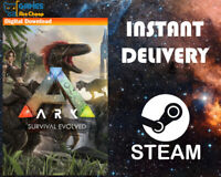 ARK: Survival Evolved Steam PC - Region Free - Not a Key 🔥🔥 [Instant Delivery]