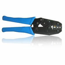 Insulated Terminal Ratchet Crimper for Electrical Crimps/ Spade Connectors etc