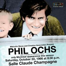 PHIL OCHS - LIVE IN MONTREAL LIVE AT THE SALLE CLAUDE-CHAMPAGNE 1966 2 CD NEW!