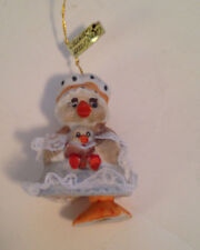 Jasco Caring Critters Chimers Duck Bell Christmas  Ornament