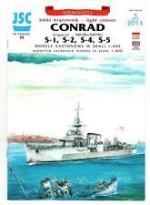 Card Model Kit – HMS Danae / Conrad