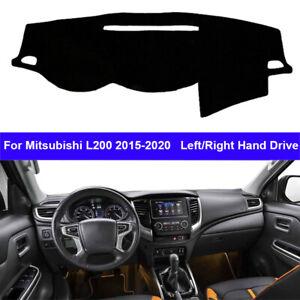Car Inner Dashboard Cover Carpet Dashmat Cape For Mitsubishi L200 2015 - 2020