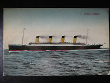 Postcard RMS Olympic