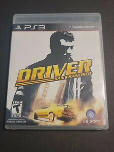Driver: San Francisco (Sony PlayStation 3, 2011) Complete & Tested PS3 Rare