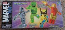 Silver Surfer Classic Wolverine Gamma Hulk Iron Man Mini Mates Marvel