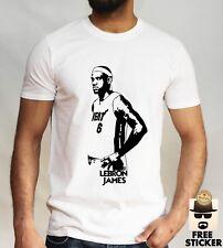 Lebron James Camiseta la Lakers Baloncesto NBA Player SPORTS Gimnasio Top S -