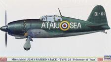 Hasegawa 1:48 Mitsubishi J2M3 Raiden Jack Type 21 Limited Kit #Sp305 #52105