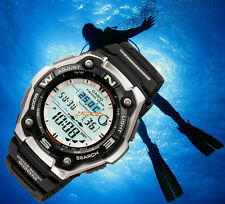Casio pro trek PESCA PROFESIONAL FISHING WATCH GEAR THERMOSENSOR MONTRE OROLOGIO