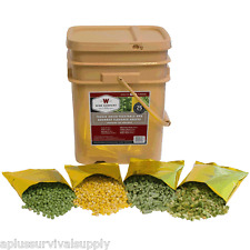 Wise Foods 120 Serving Freeze Dried Vegetable Bucket Freeze Dried Combo