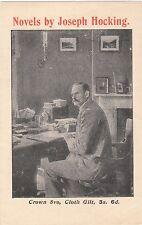 1905 Illustrated Advertising Pamphlet for the Novels of Joseph Hocking , Scarce