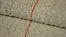 Antique European Feed Sack GRAIN SACK Red Stripes #3152