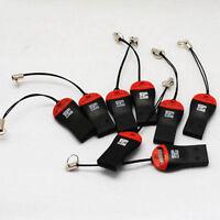 5Pcs USB 2.0 T-Flash MS TF M2 Memory Stick Card Reader