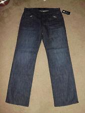ROCK & REPUBLIC Men's NEIL 36 x 34 NWT Restraint Blue pocket wash Straight Jeans