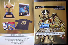 SAINT SEIYA PS3 BATALLA DEL SANTUARIO HEADGEAR BOX EDITION - NUEVO-MUCHOCHISME