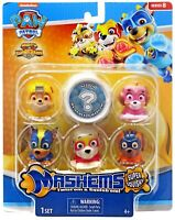 Paw Patrol Mighty Pups Super Paws Mash'Ems Series 8 Mini Figure 6-Pack  NEW