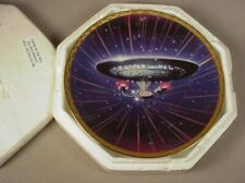 Star Trek Tng Collector Plate Uss Enterprise 1701 D Hamilton Mib The Voyagers