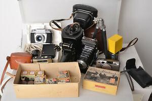 EXA 1a SLR Carl Zeiss Jena Tessar 2,8/50mm Zeiss Ikon Rollfilmkamera Penti uvm