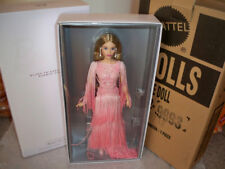 Blush Fringed Gown Barbie Doll Platinum Label no more then 1,000 made Mattel