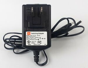 OEM JBL DSA-12CA-05 Switching Adapter Power Supply 6V 1.5A Black Tested Working