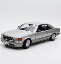 AUTOart Rarität Mercedes Benz 500 SEC Bj.1986 silber extrem selten !, 1:18, X005