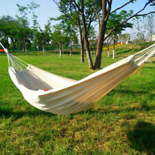 Hammock Brazilian Cotton Double Hammocks with Carrying Bag for Garden Camping