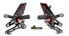 PEDANE ARRETRATE REGOLABILI LIGHTECH R VERSION CARBON DUCATI 848 1098 1198