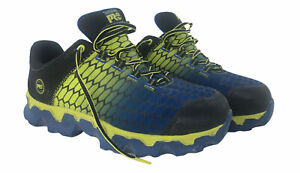 Timberland Pro 408 Anti Fatigue Alloy Toe Slip On Work Shoes Mens 10W Blue