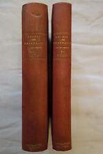 ¤¤ ARCHIVES DE PHARMACIE - 2 Vol années 1879 & 1880 ¤¤ Allemand / Médecine 19ème
