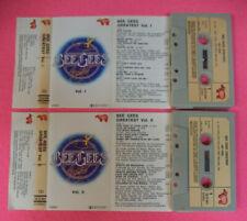 2 MC BEE GEES greatest vol. I II italy RSO 3215 040 041 no cd lp dvd