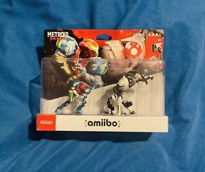 Nintendo Metroid Dread amiibo Figures - Samus & E.M.M.I. Brand New Free Shipping