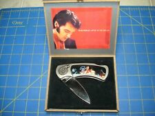ELVIS PRESLEY FOLDING KNIFE