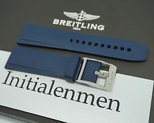 Breitling RUBBER PRO DIVER 2 blue 139S 24/20 strap band 100% ORIGINAL & NEW