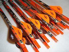 1/2 dozen Carbon Express Maxima Hunter 350 carbon custom arrows w/blazers!!!