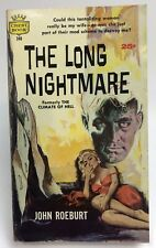 LONG NIGHTMARE John Roeburt CREST FAWCETT Thriller
