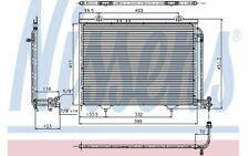 NISSENS Klimakondensator für MERCEDES-BENZ SLK 94282 - Mister Auto Autoteile