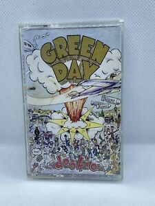 Green Day - Dookie Cassette Tape 1994 Reprise Blue tape