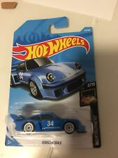 Hot Wheels 2018 Porsche 934.5 Blue Nightburnerz