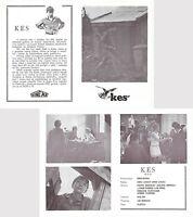 KES 10x7 Original exYU Movie Program 1969 DAVID BRADLEY LAURENCE BOULD KEN LOACH
