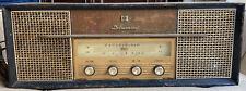 RARE Vintage Delmonico Electric Tube Radio Model TFM-99U Victor Co Made In Japan