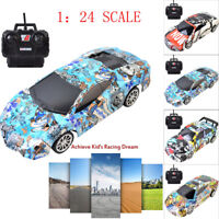 RC Car Electric Racing Drift Car 1/24 4WD Radio High Speed 2.4Ghz Racer Car Toy