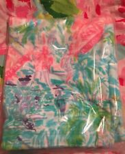 NWT Lilly Pulitzer Bohemian QUEEN WEEKENDER BAG Convertible GWP Tote Garment