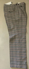 NWT $1345 Gucci Men's Dress Pants Black/Bitumen 32 US ( 48 Euro ) Italy