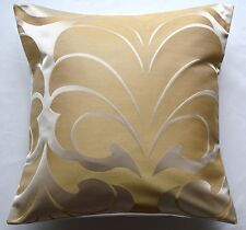 "16"" New Laura Ashley 'Alexander' Gold fabric cushion cover"
