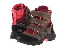 ADIDA'S OUTDOOR KIDS HOLTANNA SNOW BOOTS PINK INFANTS SIZE 2 NIB