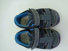 Clarks First Shoes Leather Upper Baby Boys Size 4.5 M 4 1/2 Garcon Flexible