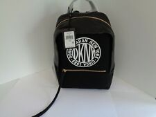 NEW DKNY TILLY CIRCA LOGO BACKPACK BLACK WHITE WOMENS BAGS