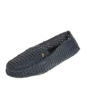 LE DD Loafer Slippers EU 37 UK 4 US 7 Textured Slip On Apron Toe