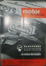 * Motor-Rundschau  5 / 1963 -  BMW 1500 Neue Klasse - Opel Rekord A *