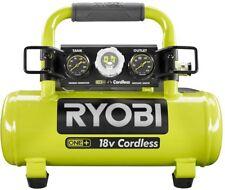 Ryobi Air Compressor Portable Inflation Finish Nailing 18 Volt Cordless 1 Gal