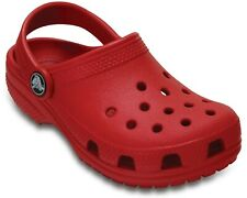 Crocs Kids Classic Clog Slip On Pepper Red